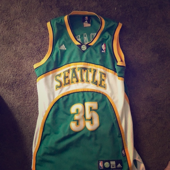 super popular 5776c 653ef KEVIN DURANT AUTHENTIC THROWBACK SUPERSONIC JERSEY